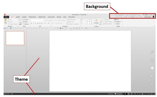 How to Change Your PowerPoint 2013 Office Theme