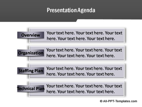 PowerPoint Project Report Template