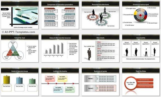 PowerPoint Strategic Roadmap Template - it roadmap template