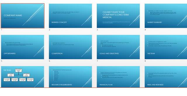 Using Microsoft\u0027s Free PowerPoint Template to save time