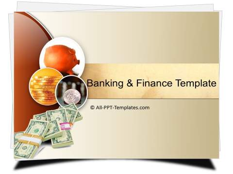 PowerPoint Banking and Finance Template Sets - money background for powerpoint