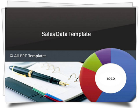 PowerPoint Sales Data Template - sales presentation template