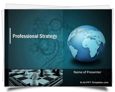 PowerPoint Strategy Template - strategy powerpoint presentations