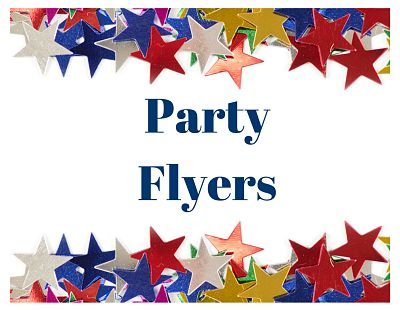 Templates for Party Flyers and Fundraising Events - Let\u0027s Get this