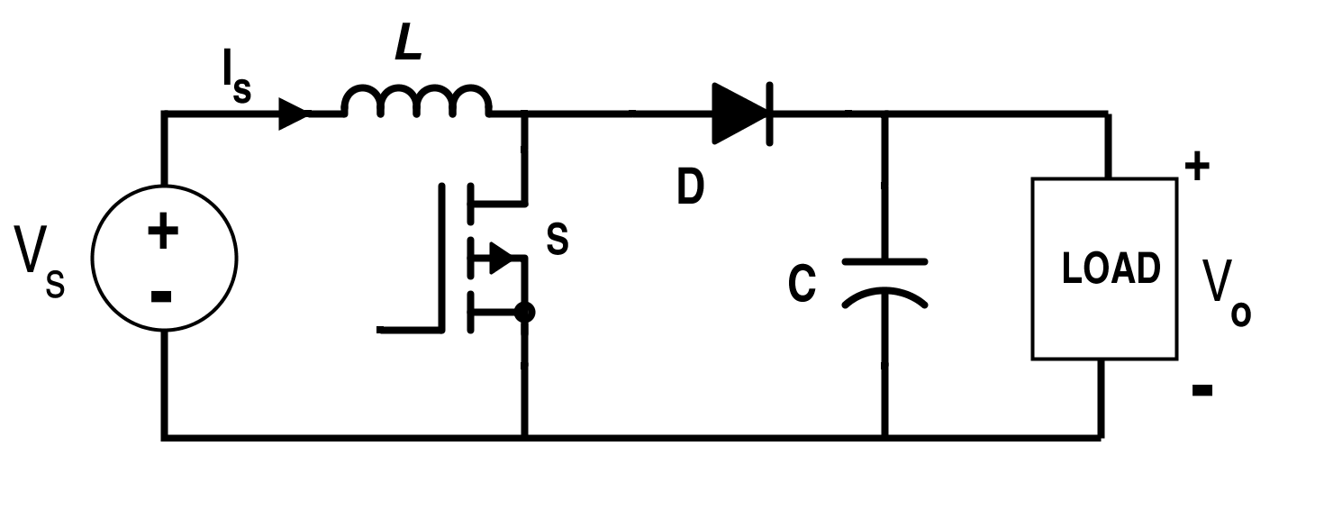 boost converter circuit schematic