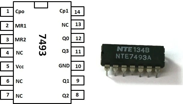 Build a 4-Bit Binary Counter with 5x7 LED Matrix