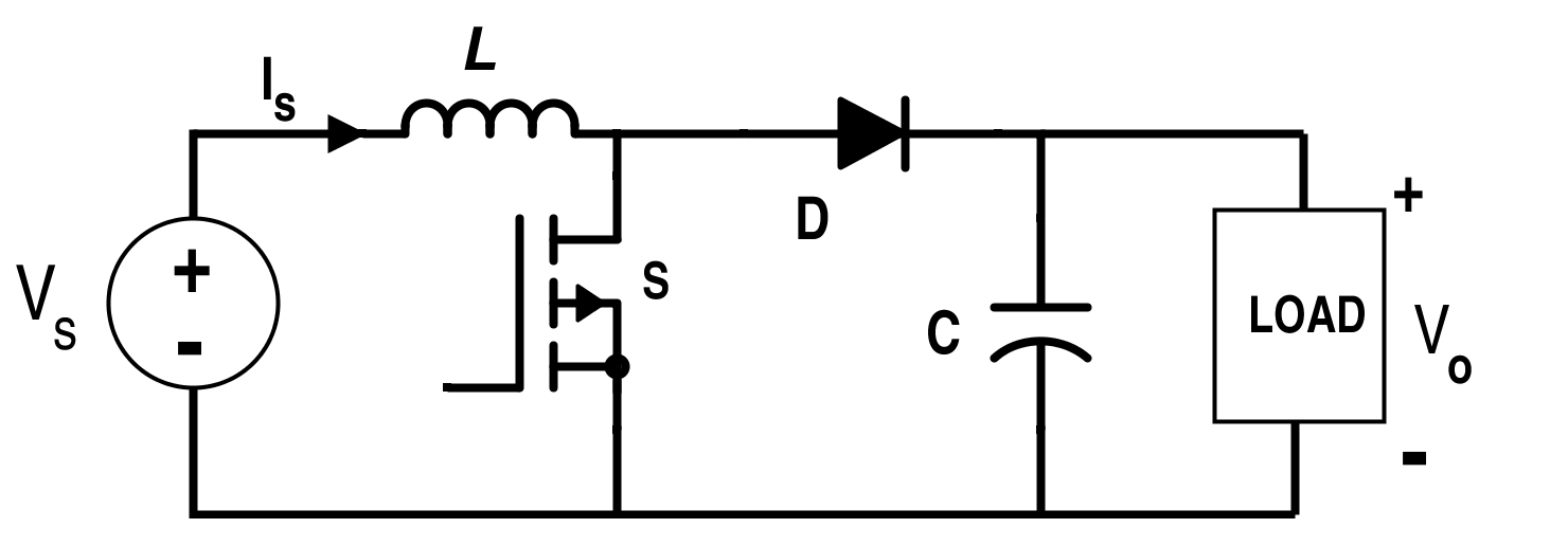 circuit diagram of inductor filter
