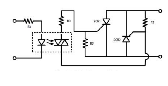 solid state latching relay schematic