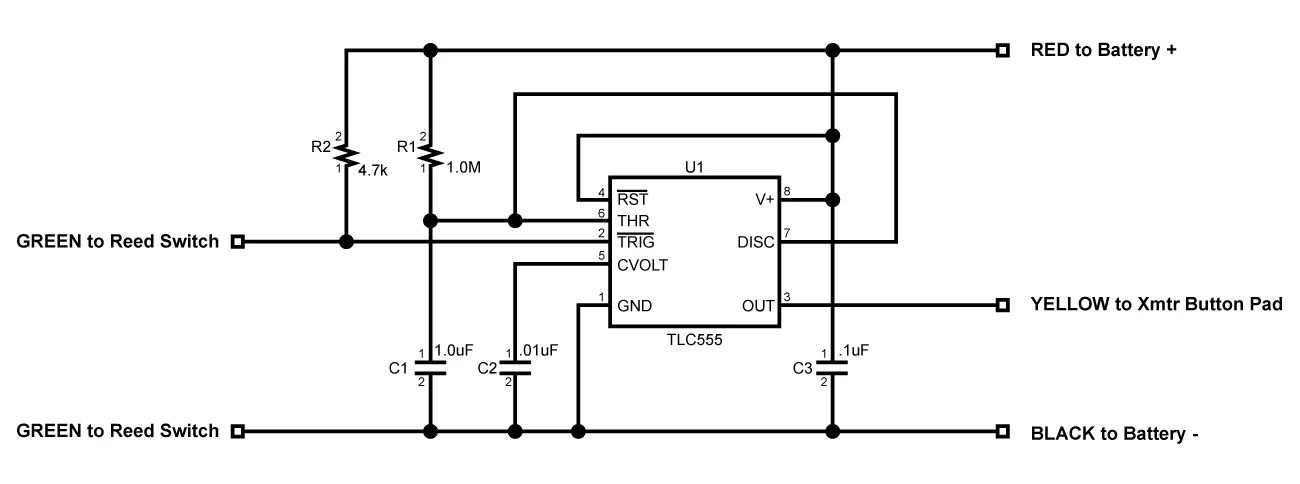 optocoupler that is used as a pulse stretcher circuit diagram