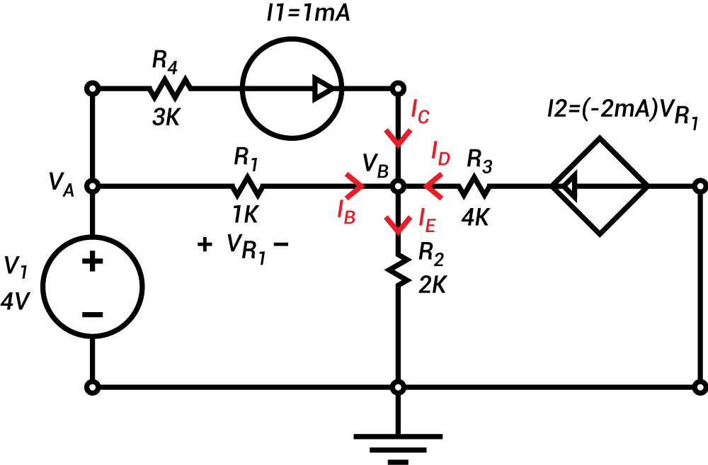 circuits nodal analysis