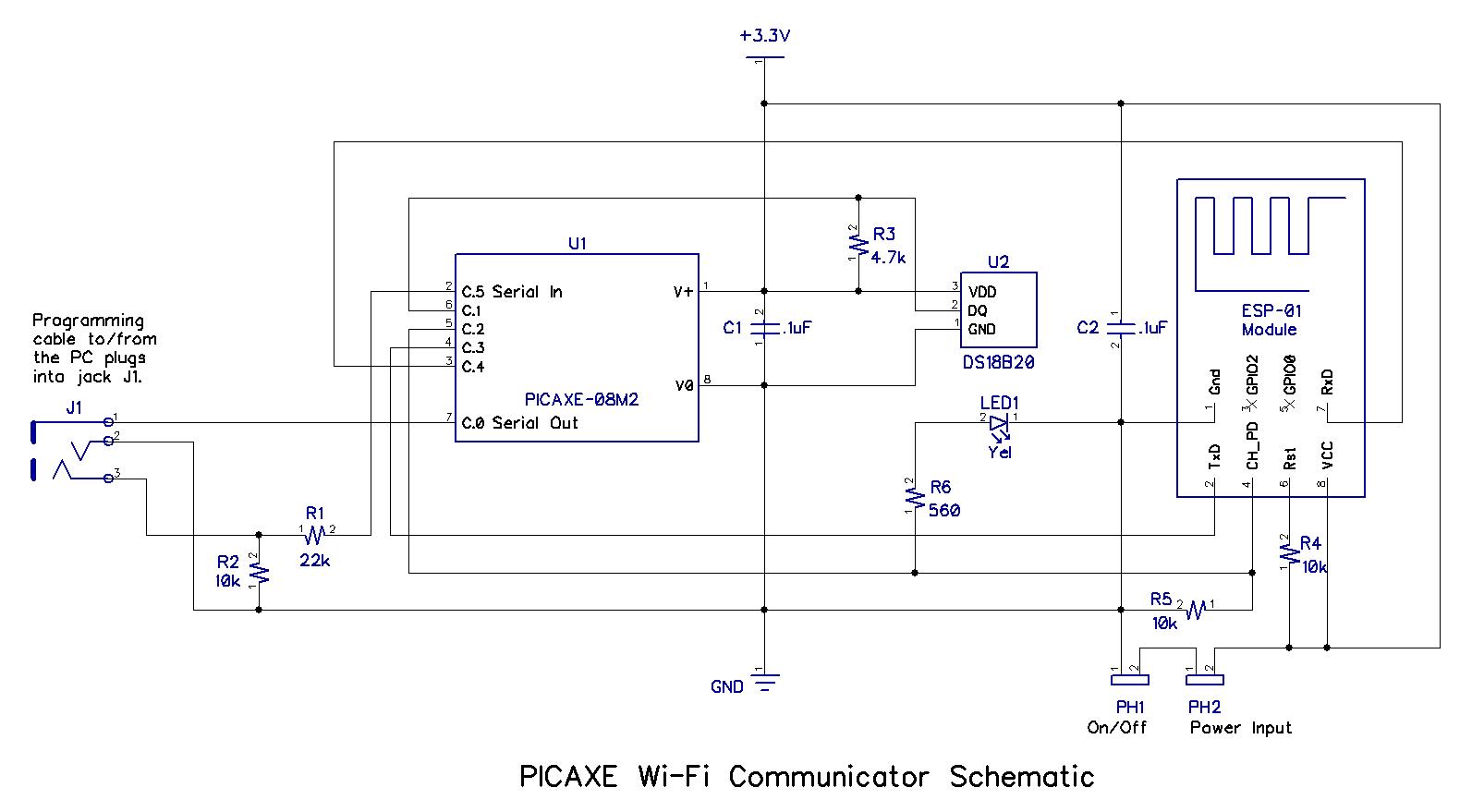 wi fi wiring diagram