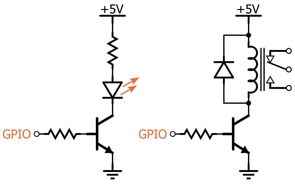 relay circuit control