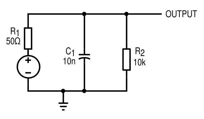 rc circuit for bode analysis