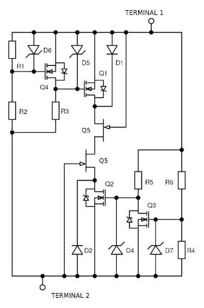 circuit for their application with a technique known as incircuit