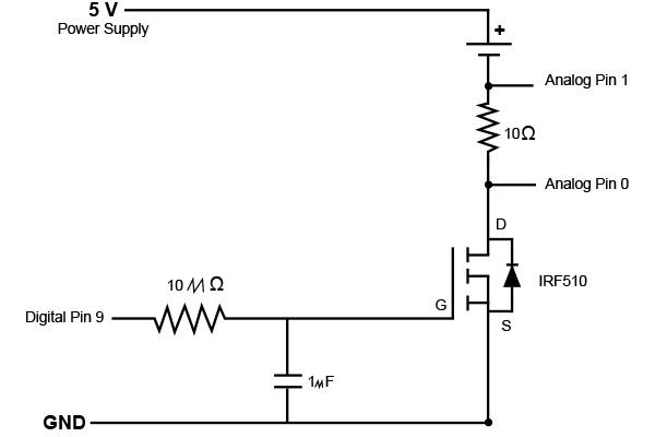 thermistor circuit arduino