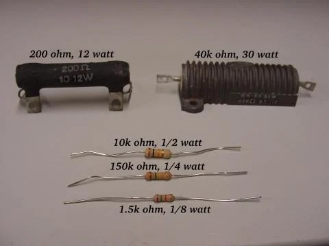 Resistors Ohm\u0027s Law Electronics Textbook