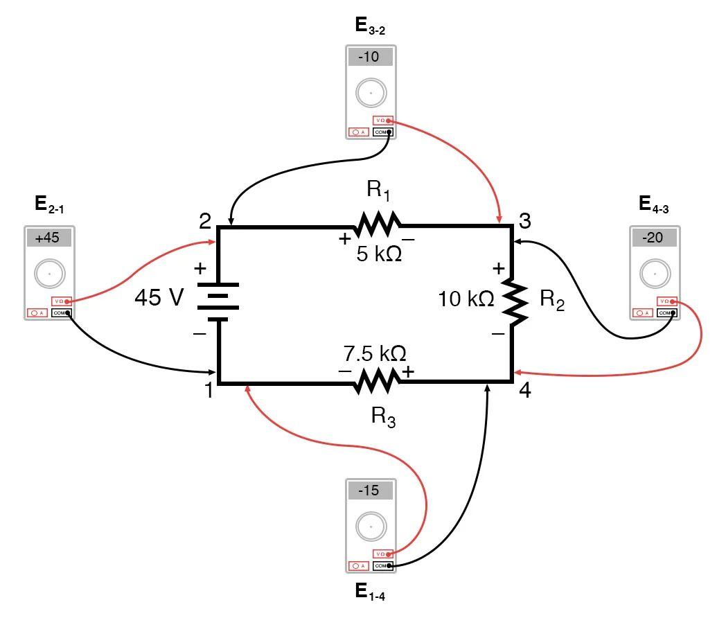 kirchhoffs voltage law kvl divider circuits and kirchhoff39s
