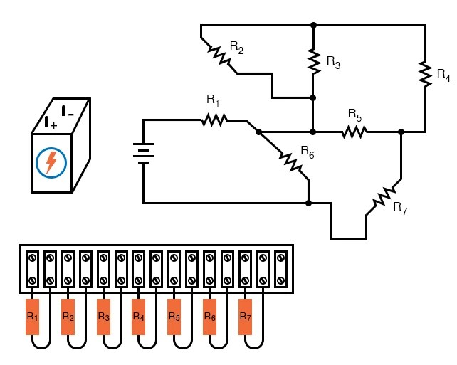 Building Series-Parallel Resistor Circuits Series-parallel