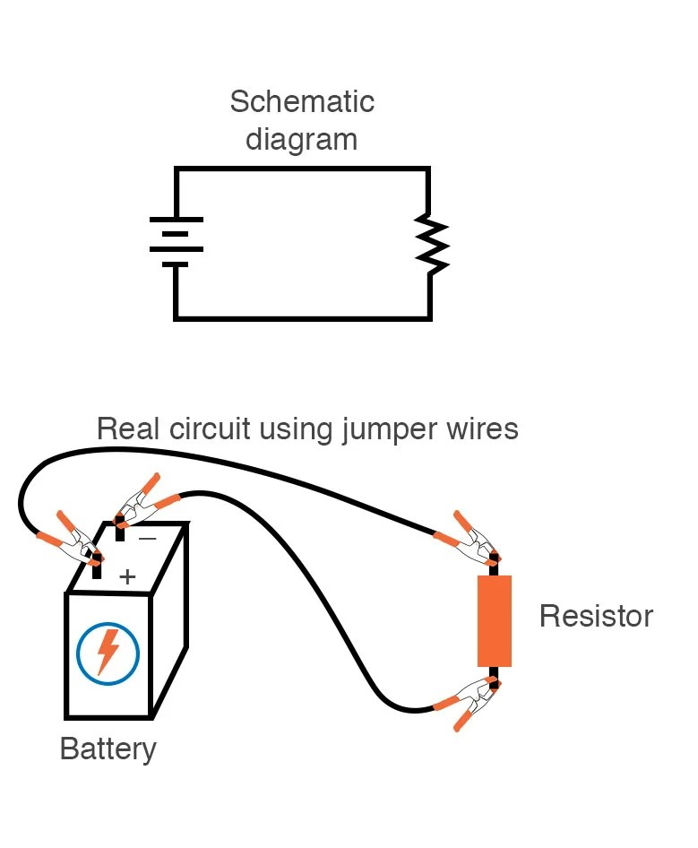 Building Simple Resistor Circuits Series And Parallel Circuits