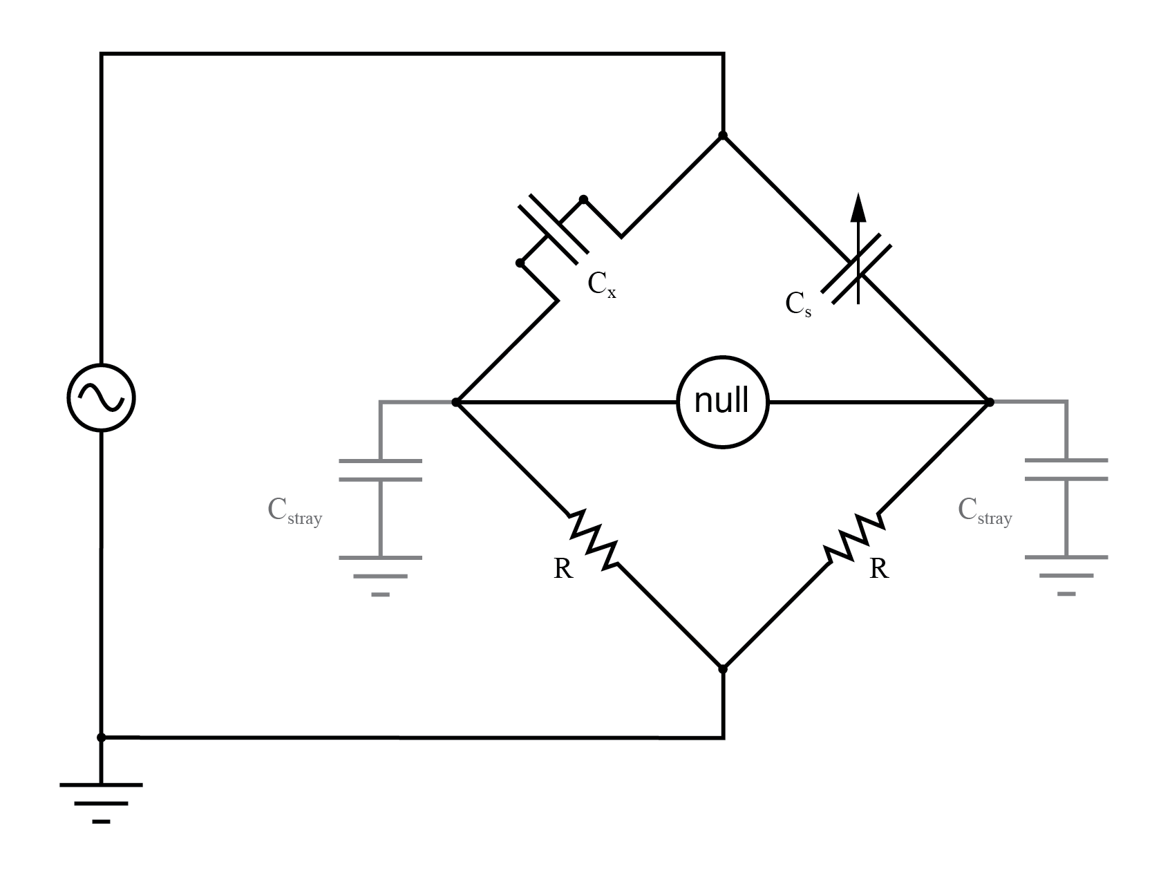 capacitance in ac circuit electronics