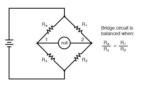 Bridge Circuits DC Metering Circuits Electronics Textbook