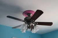 Cute Pink Girls Ceiling Fan Lights European StyleJollyHome ...