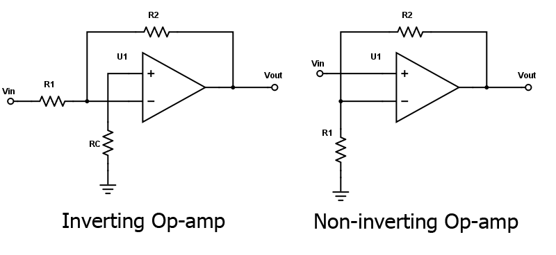 noninverting amplifier summing inverter circuit diagram amplifier