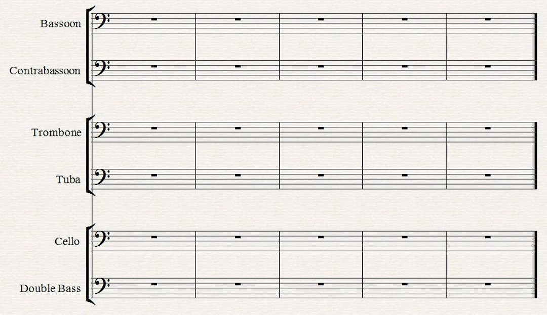 F Clef; Bass Clef - All About Music Theory