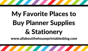 allaboutthehouse printable planners to organize your home business and life. Black Bedroom Furniture Sets. Home Design Ideas
