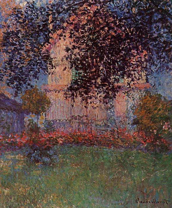 Oil Painting Reproduction of Monet- Monet\u0027s House in Argenteuil