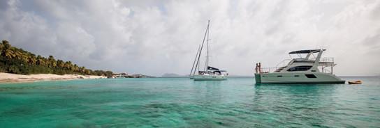 Part of the MarineMax yacht charter fleet. Photography courtesy Marinemax