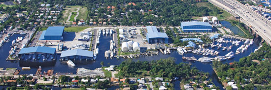 Foster's Yacht Services at Lauderdale Marine Center