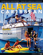 All At Sea - The Caribbean's Waterfront Magazine - October 2014
