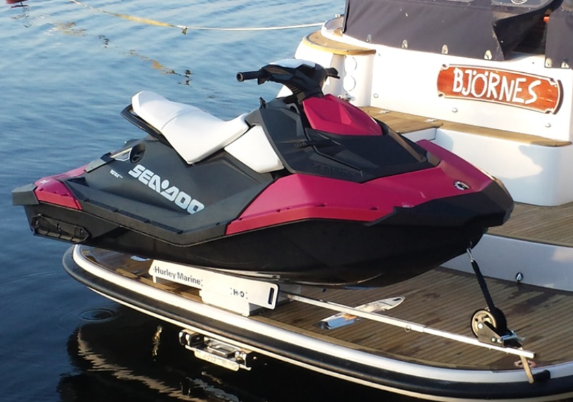 Hurley Davit Systems For Inflatable Boats