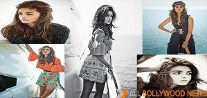 Alia Bhatt Photo Shoot Stills From Hello Cover Page March 2015