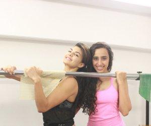 Jacqueline Fernandez and Namrata Purohit