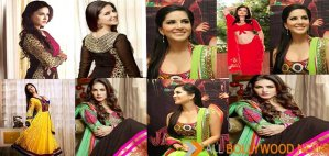 Sunny Leone looked beautiful in an indian culture dress