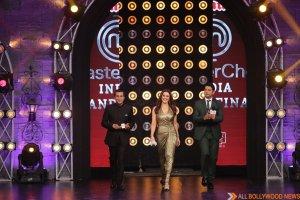 Chetan Bhagat, Preity Zinta and Marzi in the finale of MasterChefIndia season 4