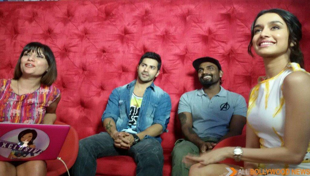 MissMalini Hosts Varun Dhawan, Shraddha Kapoor and Remo