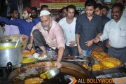 Pulkit and Riteish visit Mohammad Ali Road