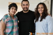 Aamir meets the Phogat sisters