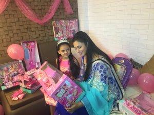 Ruhaanika Dhawan brings in her real birthday with Ishima (1)