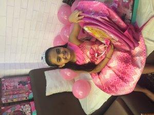 Ruhaanika Dhawan brings in her real birthday with Ishima (4)