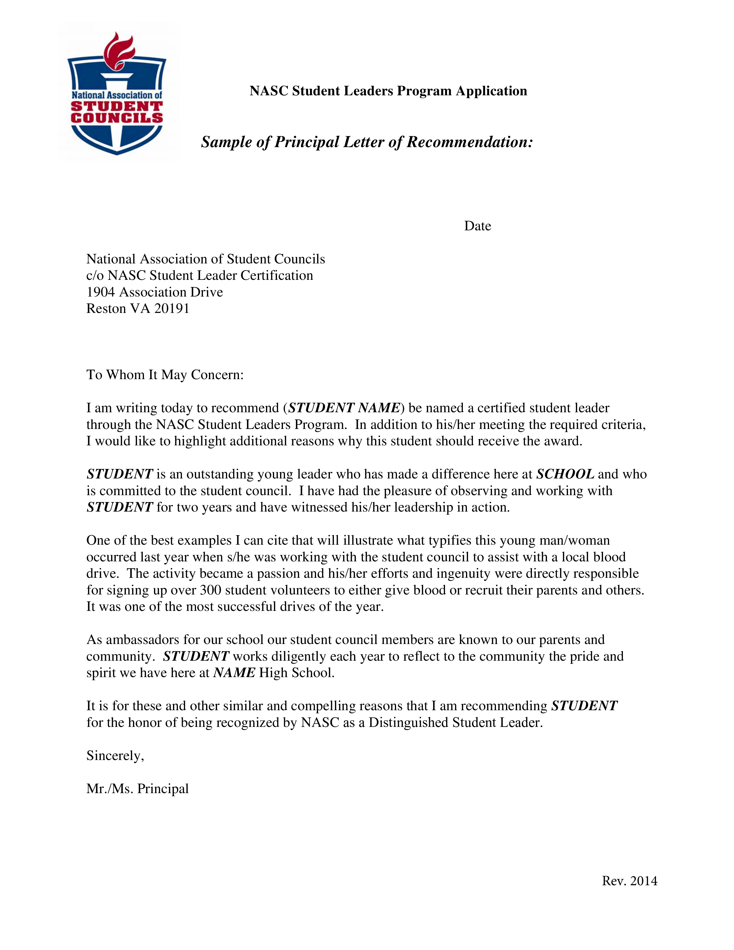 letter of recommendation fill in the blanks
