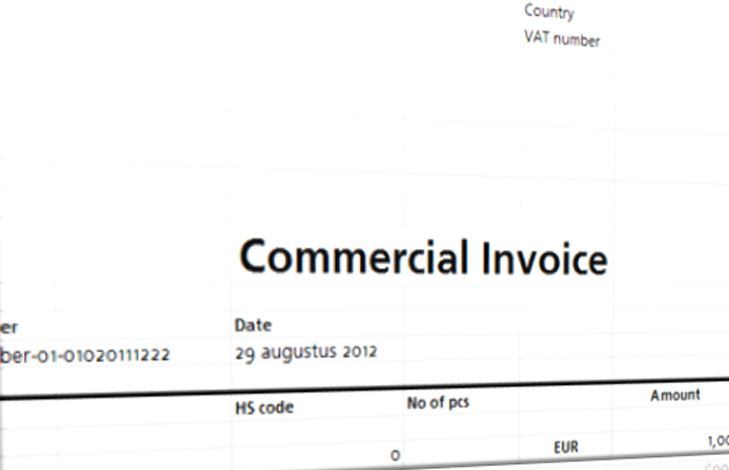 Commercial Invoice Template Templates at allbusinesstemplates - comercial invoice template