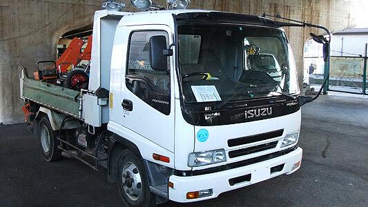 Isuzu F-Series / Forward Truck Workshop Manual 1997 - 2002 FSR / FTR