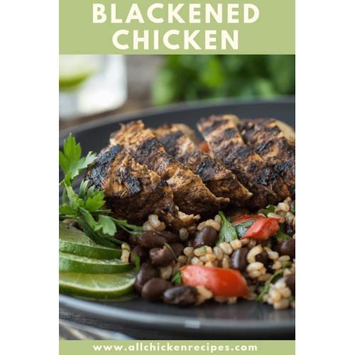 Medium Crop Of Blackened Chicken Recipe