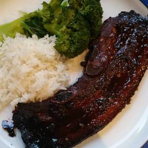 Asian pork spare ribs for #everyfuckingnight. What's on your plate?