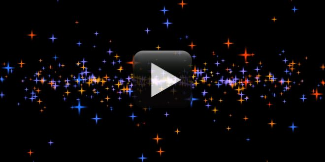 Animated Moving Stars Video Background Effect-Free Download All