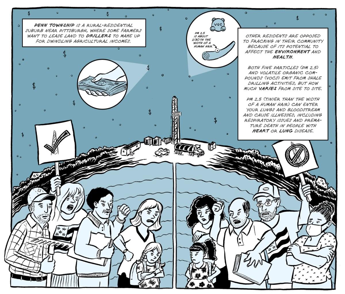 Comic by Em Demarco / PublicSource